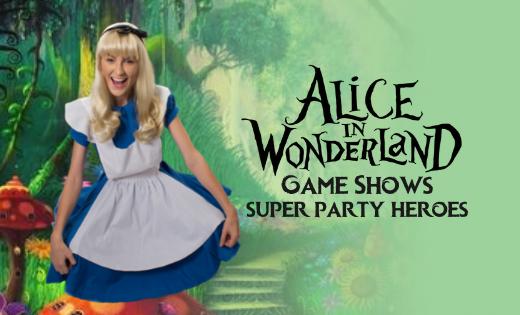 Mad Hatter Brisbane Gold Coast Wonderland Super Party Heroes Entertainers Kids Party