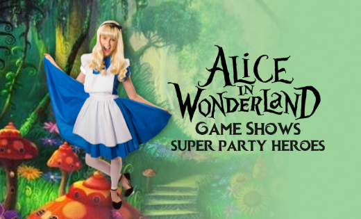 Alice Brisbane Gold Coast Wonderland Super Party Heroes Entertainers Kids Party (1)
