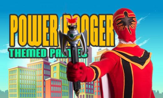 Power Ranger Super Steph Game Shows Brisbane Gold Coast Kids Party Queensland
