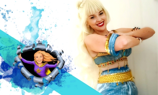Princess Jasmine Game Shows Brisbane Gold Coast Kids Party Queensland Australia
