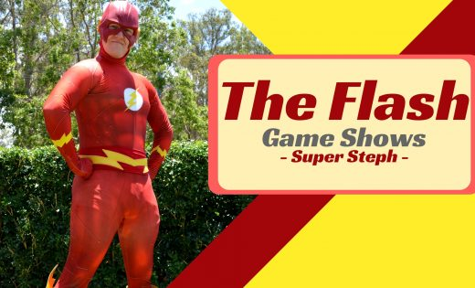 The Flash Game Shows Brisbane Gold Coast Super Steph Super Party Heroes