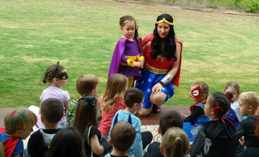 Wonder Woman Game Show Brisbane Gold Coast Super Party Heroes Super Steph