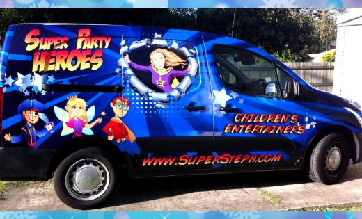 Mobile Birthday Parties Super Party Heroes