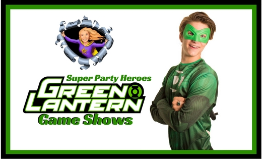 Green Lantern Ryder Birthday Party Entertainer in Brisbane and Gold Coast Sunshine
