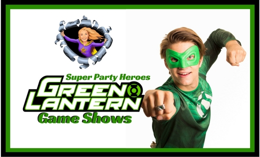 Green Lantern Ryder Birthday Party Entertainer in Brisbane and Gold Coast