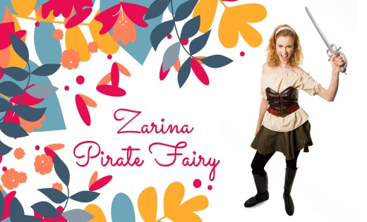 Zarina The Pirate Fairy Brisbane Gold Coast Fairy Themed Birthday Parties Children Party Super Party Heroes (Custom)