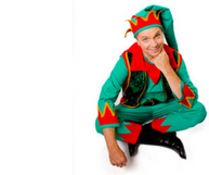 Christmas Elf Themed Entertainers for Christmas Corporate Events in Brisbane and Gold Coast