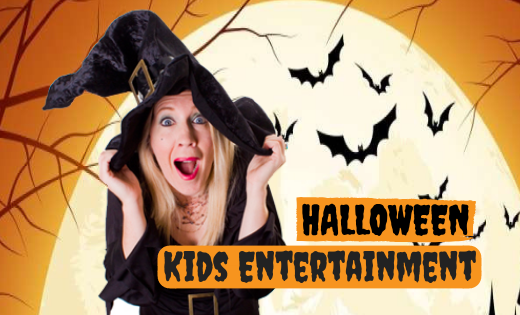 Children Halloween Entertainment for Corporate Events Schools OSHC in Brisbane and Gold Coast Themed Magic Shows