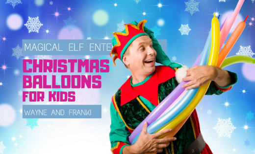 Hilarious Christmas Magic Show Spirit Holiday Entertainment for Kids Corporate Events OSHC Kindy Schools Churches in Brisbane and Gold Coast
