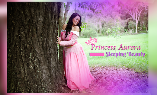 Princess Aurora Themed Birthday Parties in Brisbane and Gold Coast Area Sleeping Beauty Parties