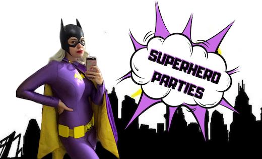Bat Girl Birthday Parties Children Entertainment Brisbane Gold Coast Super Party Heroes