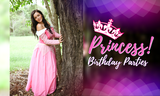 Super Party Heroes Kids Birthday Party Themed Princess Aurora Brisbane Gold Coast