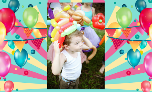 Balloon Gold Coast Brisbane Children Birthday Party Themed Birthday Corporate Events