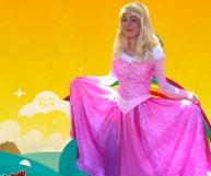 Aurora Birthday Parties Children Sleeping Beauty Brisbane and Gold Coast Super Party Heroes