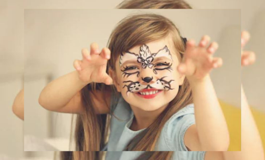 Full Face Painting Face Painter in Brisbane and Gold Coast Children Party Super Steph