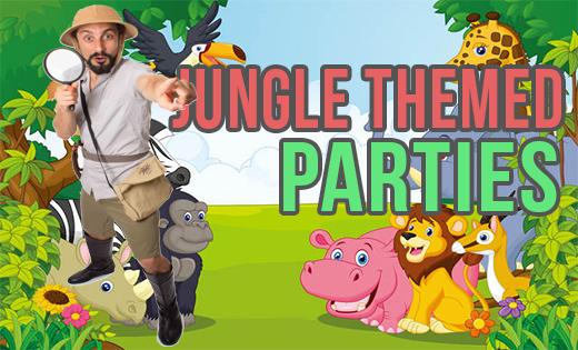 Jungle Safari Themed Birthday Parties in Brisbane and Gold Coast Super Party Heroes