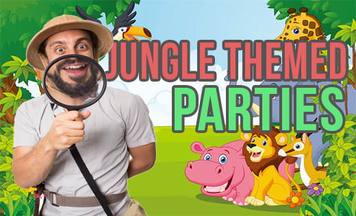 Jungle Safari Themed Birthday Parties in Brisbane and Gold Coast