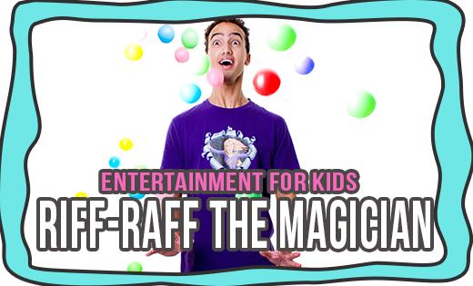 RIFF-RAFF THE MAGICIAN SUPERSTEPH MAGICIANS IN BRISBANE MAGICIANS IN GOLD COAST
