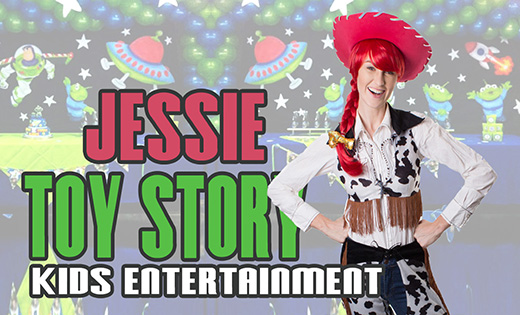 Toy Story Buzz Jessie Super Steph Super Party Heroes Brisbane Gold Coast