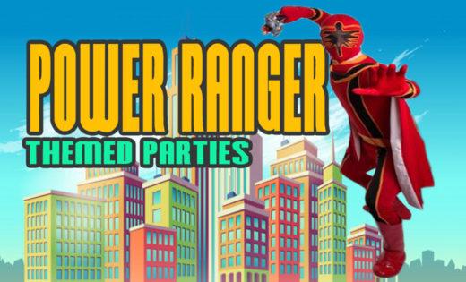 Power Ranger Birthday Party Super Steph Themed Parties Brisbane Gold Coast Kids Queensland