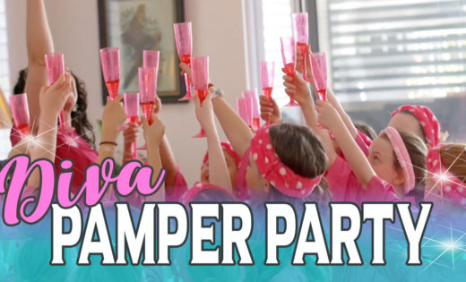Diva Pamper Party Brisbane Gold Coast Kids Super Party Heroes