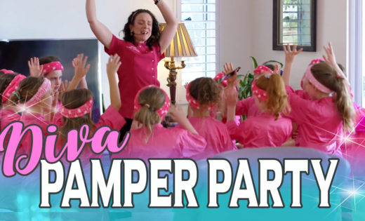 Diva Pamper Party Super Party Heroes Super Steph Brisbane Gold Coast