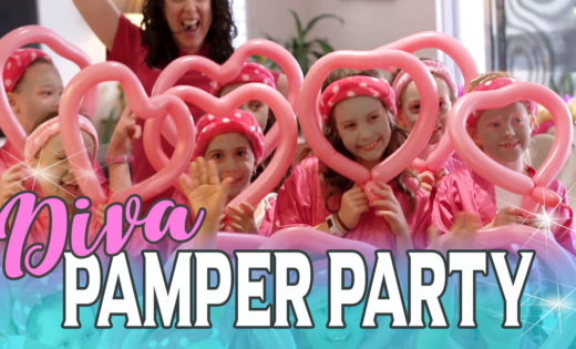 Best Pamper Party Entertainment for kids in Brisbane and Gold Coast