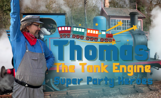 Thomas The Tank Engine Train Parties Birthday Party Gold Coast Brisbane